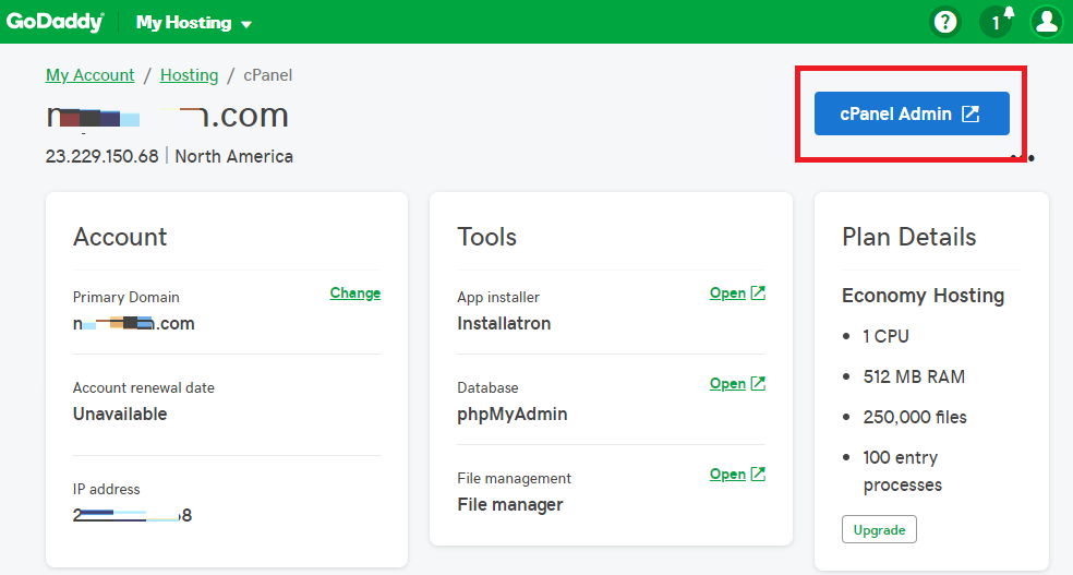 GoDaddy or cPanel Hosting conflict with Office 365 Auto
