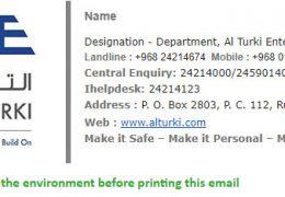 AlTurki - Signature